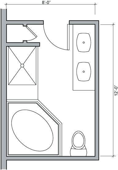 Master Bathroom Floor Plans Dimensions Master Bathroom Floor Plans