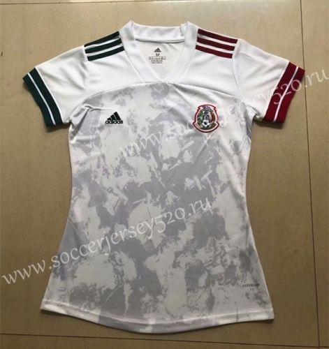 2020 European Cup Mexico Away White Female Thailand Soccer Jersey Aaa In 2020 Soccer Jersey Football Sweater Jersey