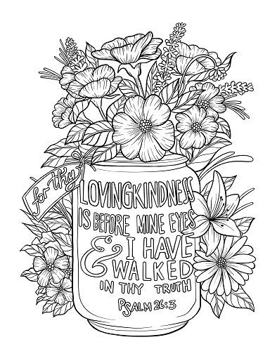 Scripture Coloring Page Coloring Pages Inspirational Scripture