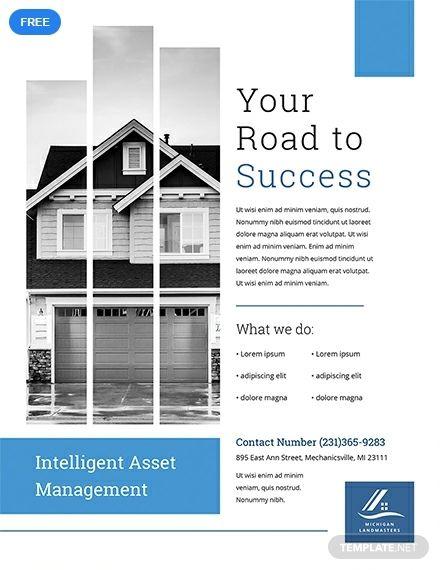 Free Property Management Flyer Real Estate Marketing Flyers