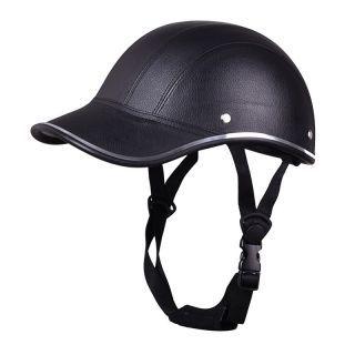 Motorcycle Anti Uv Helmet Baseball Cap Style Plaid Safety Half Helmet Black Half Helmets Motorcycle Helmets Half Helmet