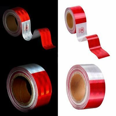"""BRIGHT RED  Reflective   Conspicuity  Tape 1/"""" x 50/'"""
