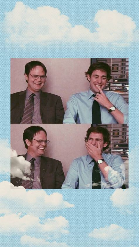 Jim and Dwight