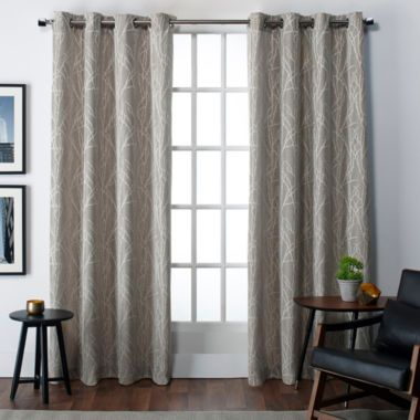 Finesse Room Darkening Grommet Top Curtain Panel Home Curtains Grommet Top Curtains Panel Curtains