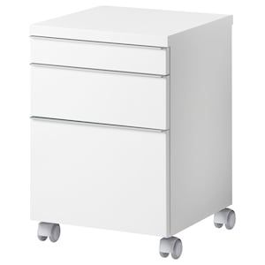 Erik Drawer Unit W 3 Drawers On Casters White 16 1 8x22 1 2 Ikea In 2020 Drawer Unit Simple Closet Diy Drawers