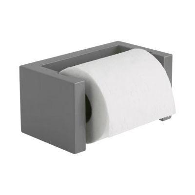 Derouleur De Papier Toilette En Bambou Gris Tonic En 2020 Papier Toilette Derouleur Et Toilettes