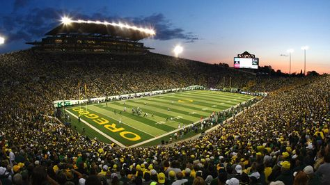 Autzen Stadium, University of Oregon; Eugene, Oregon