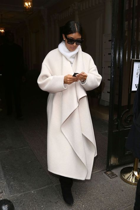 From glam coats in Paris to leather jackets in New York, Kim Kardashian has worked the full spectrum of style this year.