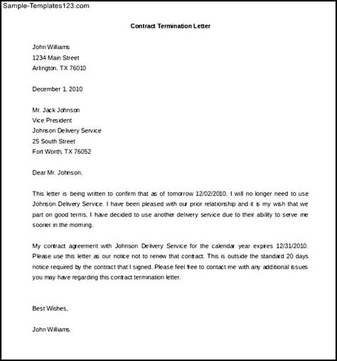 cancellation letter golf membership sample template service write - format for termination letter
