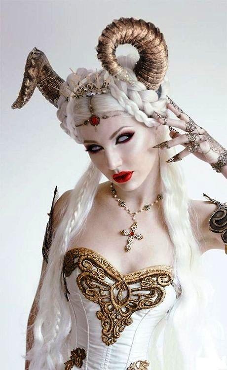 The White Demon Daughter - Halloween / Costume / Cosplay / Costuming