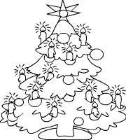 Tannenbaum Mit Kerzen Mehr Weihnachtsmalvorlagen Weihnachtsbilder Zum Ausmalen Malvorlagen Weihnachten