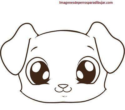 Faciles Dibujos Tiernos De 4 Caritas De Perros Para Dibujar En