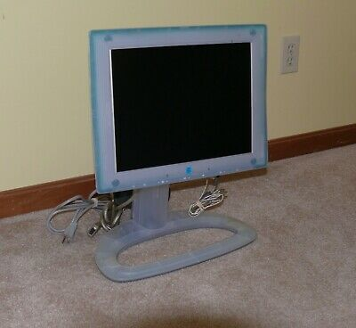 Apple Studio Display Monitor 15 1 Model M4551 1999 Clean Monitor Electronic Products Computer