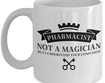 Pharmacist Coffee Mug Ceramic Tea Cup Gift For Pharmacists Funny Sayings Novelty Quotes Gifts Pharmacist Tea Cup Gifts Ceramic Tea Cup