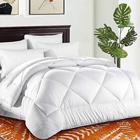Queen Comforter Soft Quilted Down Alternative Duvet Insert With