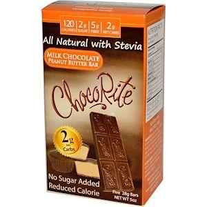 Healthsmart Foods チョコライト ミルクチョコレート ピーナッツバターバー 各 5本 28 G Discontinued Item Peanut Butter Chocolate Bars Chocolate Peanut Butter Chocolate Milk