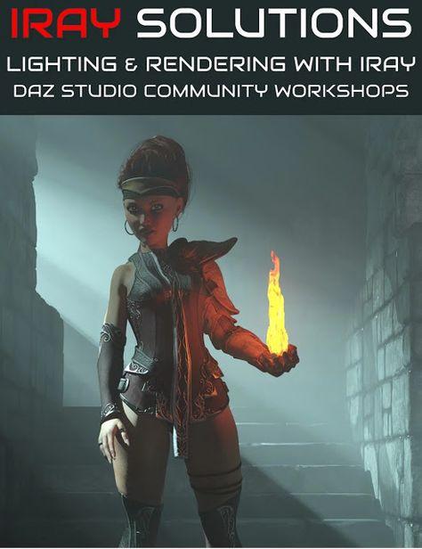Download DAZ Studio 3 for FREE!: DAZ 3D - Iray Solutions Workshop