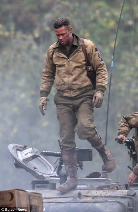 Best FURY By Brad Pitt Images On Pinterest Action - New official trailer fury starring brad pitt