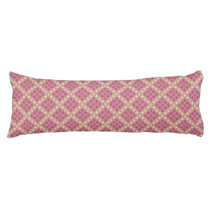 Paws for Comfort Body Pillow (Cherry
