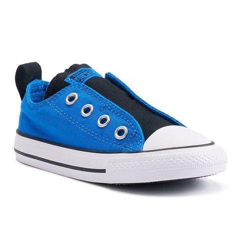 Converse Boys' Chuck Taylor All Star Simple Slip (InfTod) ThunderBlackCasino 6 Toddler