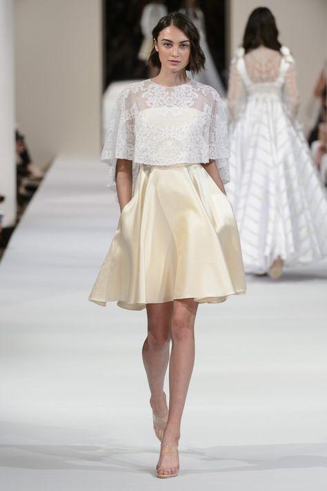Défilé Alexis Mabille automne-hiver 2018-2019 Couture