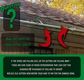 Warped Gutters Are More Than Just An Eyesore They Can Be A Source For Water Damage See How Leafguard Can Protect Y Gutters Gutter Protection Seamless Gutters
