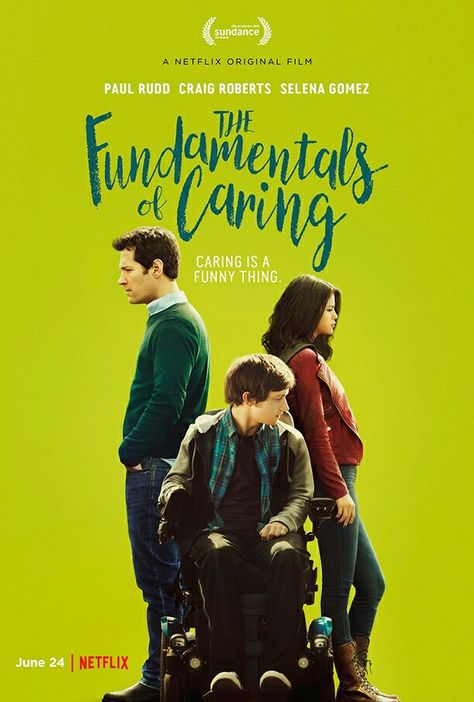 """New poster of """"The Fundamentals of Caring"""""""