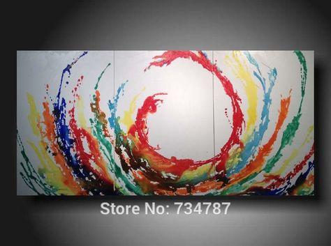 grandi dipinti su tela