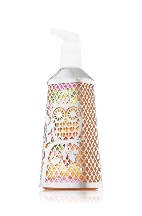 1 Bath Body Works White OWL RESIN Foaming Deep Cleansing Gel Soap Holder Decor