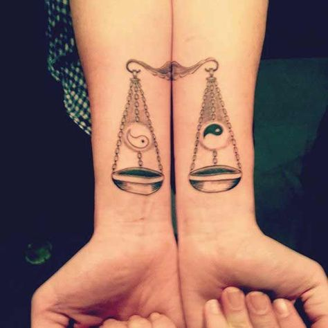 Love for Libra Tattoos! Check out all of these Libra Tattoo designs.