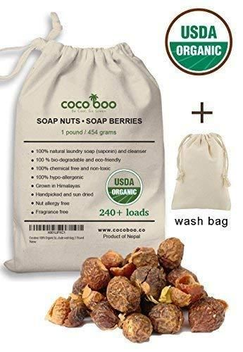 Cocoboo 100 Organic Soap Nuts Usda Organic Certified Natural