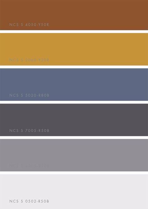 Color Trends 2018 by NCSColor via Eclectic Trends   Keep the blues and greys-- add deep warm golden marigold
