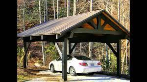 Image Result For Single Car Carport Construction Plans Carport Designs Building A Carport Carport