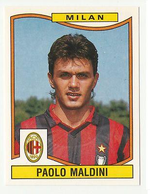 205 MALDINI MILAN NUOVA! PANINI CALCIATORI 1988-89 1988 1989 N