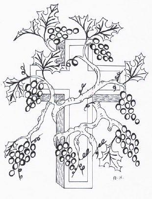 Jesus Is The True Vine Sunday School Lesson True Vine Sunday