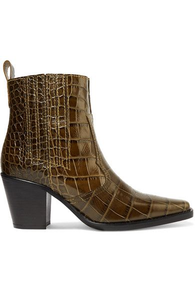 Pin By Maryam Saleh On Fashion Style Leather Ankle Boots Western Style Boots How To Wear Ankle Boots
