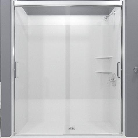 Arizona Shower Door Desert Tombstone 50 In To 54 In W X 70 375 In