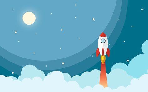Imagem Gratis No Pixabay Espaco Foguete Noite Em 2020