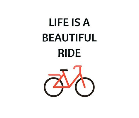 Bike Quotes Life Is A Beautiful Ride Tapestry By Ideasforartists