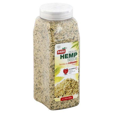 Badia Hulled Hemp Seeds 1 3 Lb Walmart Com Hemp Seeds Seeds Hemp
