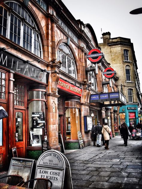 Earl's Court, London, England - I lived a 5 minute walk from Earl's Court tube station.