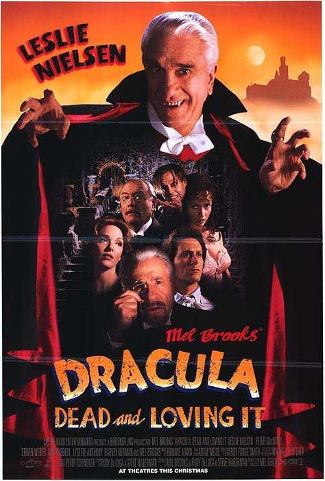 Posters from the film Dracula Dead And Loving It