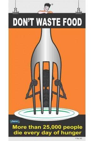 342 Dont Waste Food Save Food Poster Food Graphic Design