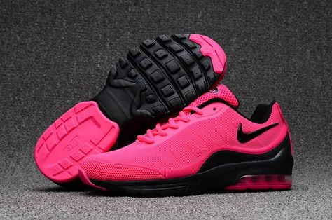 timeless design 60adf df0f8 Nike Air Max 95 Womens Running Sport Shoes Pink Black