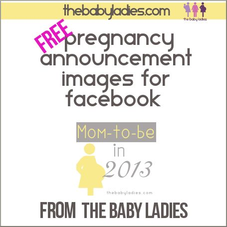 Free Facebook profile and cover images to announce or celebrate – Free Baby Announcement