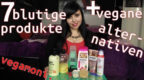 7 blutige Produke + vegane Alternativen   LOréal, Garnier