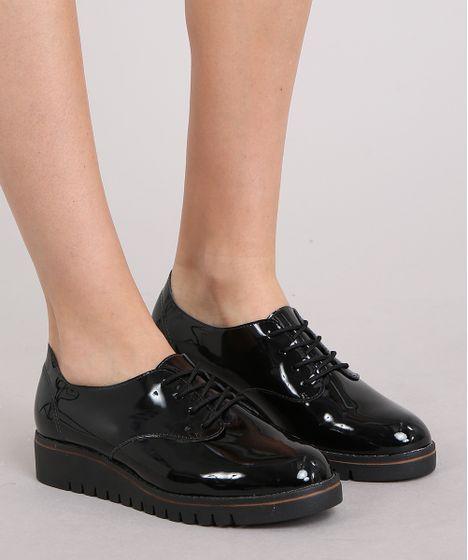 2173909b6502a Oxford-Feminino-Beira-Rio-Tratorado-em-Verniz-Preto-9240692-Preto_2 | Shoes  Beautiful em 2019 | Sapatos oxford femininos, Oxford feminino e Tênis  pretos ...