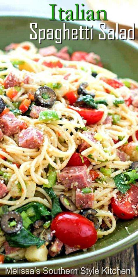 Best Pasta Salad, Pasta Salad Recipes, Best Pasta Recipes, Spaghetti Salad, Spaghetti Recipes, Beef Recipes, Cooking Recipes, Healthy Recipes, Recipies