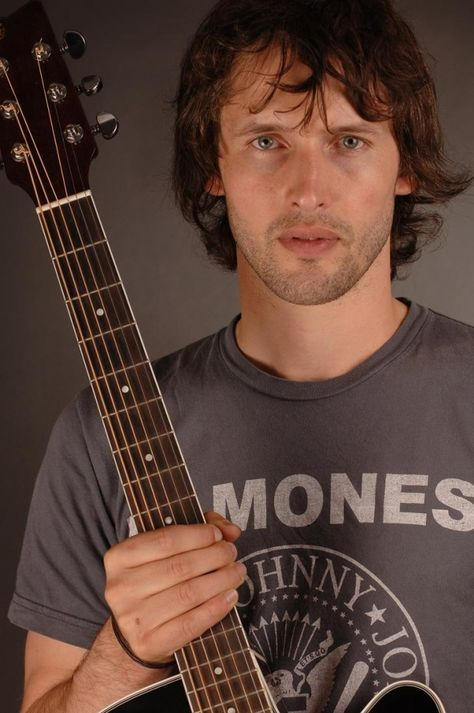 James Blunt, The Ramones, and a guitar.. Yup.