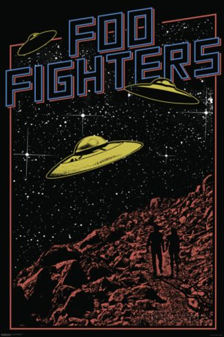 Foo Fighters- UFO Poster at AllPosters.com